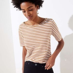 NEW LOFT Vintage Soft striped tee shirt t-shirt S